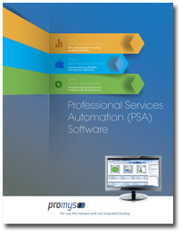 Promys PSA Software Brochure cover