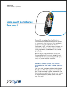 Cisco Audit Compliance Scorecard Free Download Thumbnail