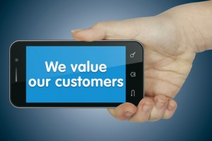 How does mobile access to data make for a great customer experience?