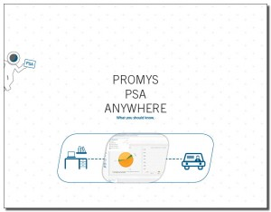 promys anywhere psa software brochure image