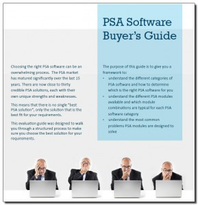psa software buyers guide june 2015