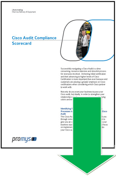 Cisco Audit Compliance Scorecard Free Download | Promys