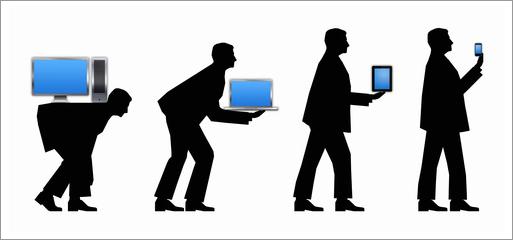 Evolution computer technology